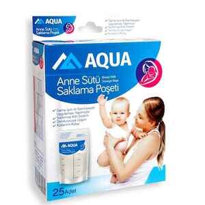 Aqua - Aqua Anne Sütü Saklama Poşeti 25 li