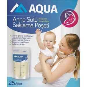Aqua - Aqua Anne Sütü Saklama Poşeti 25 li (1)