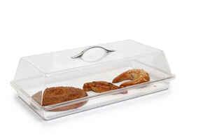 Bora Plastik - Bora B0352 Pasta Kek Kabı Dikdörtgen Takım Polikarbonat