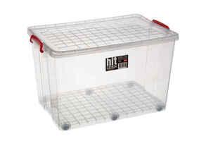Bora Plastik - Bora BO286 Saklama Kabı Tekerlekli 67 Litre