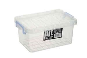 Bora Plastik - Bora BO438 Kapaklı Kasa 4,5 Litre