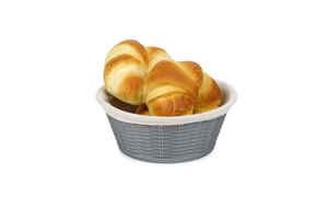 Bora Plastik - Bora BO660 Hasır Desenli Ekmek Sepeti Yuvarlak