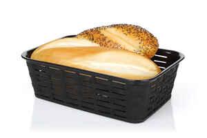 Bora Plastik - Bora BO671 Hasır Desenli Ekmek Sepeti