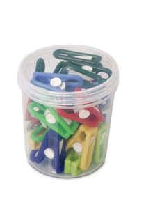 Bora Plastik - Bora BO684 Plastik Kutulu Mandal 22 Adet