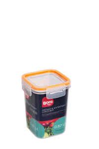 Bora Plastik - Bora BO864 Saklama Kabı Kare 870 ML