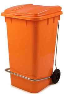 Bora Plastik - Bora BO995 Çöp Konteyneri Pedallı 240 Litre