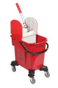 Ermop - Ermop Tek Kovalı Temizlik Arabası