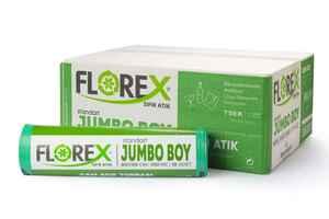 Florex - Florex Cam Atık Çöp Poşeti 80x110 800 GR 10 Rulo