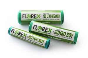 Florex Cam Atık Çöp Poşeti 80x110 800 GR 10 Rulo - Thumbnail (2)