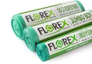 Florex Cam Atık Çöp Poşeti 80x110 800 GR 10 Rulo - Thumbnail (3)