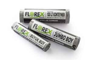 Florex Diğer Atıklar Çöp Poşeti 80x110 800 GR 10 Rulo - Thumbnail (2)