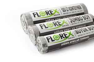 Florex Diğer Atıklar Çöp Poşeti 80x110 800 GR 10 Rulo - Thumbnail (3)