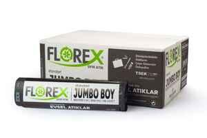 Florex - Florex Evsel Atık Çöp Poşeti 80x110 800 GR 10 Rulo