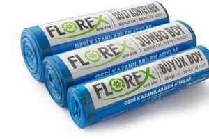 Florex Geri Kazanılabilen Atıklar Çöp Poşeti 80x110 800 GR 10 Rulo - Thumbnail (3)