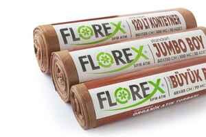 Florex Organik Atık Çöp Poşeti 80x110 800 GR 10 Rulo - Thumbnail (3)
