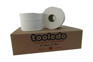 Tooledo - İçten Çekmeli Tuvalet Kağıdı 6 Rulo