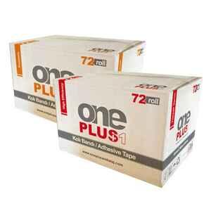 One Plus - One Plus Koli Bandı Kahverengi 45x100 Hotmelt 36 Adet