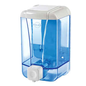 Palex - Palex 3420-1 Sıvı Sabun Dispenseri 500 CC Şeffaf Mavi