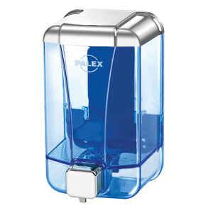 Palex - Palex 3420-2 Sıvı Sabun Dispenseri 500 CC Şeffaf Krom