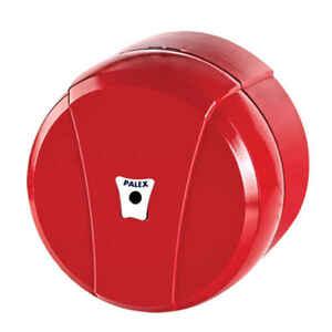 Palex - Palex 3442-B Mini İçten Çekmeli Tuvalet Dispenseri Kırmızı