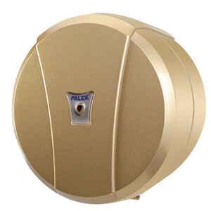 Palex - Palex 3442-G Mini İçten Çekmeli Tuvalet Kağıdı Dispenseri Gold