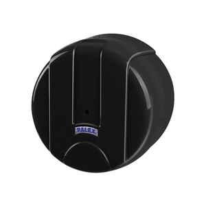 Palex - Palex 3442-S Mini İçten Çekmeli Tuvalet Kağıdı Dispenseri Siyah