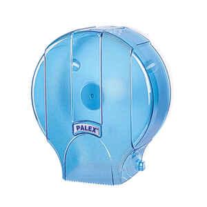 Palex - Palex 3448-1 Standart Jumbo Tuvalet Kağıdı Dispenseri Şeffaf Mavi
