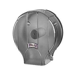 Palex - Palex 3448-2 Standart Jumbo Tuvalet Kağıdı Dispenseri Şeffaf Füme