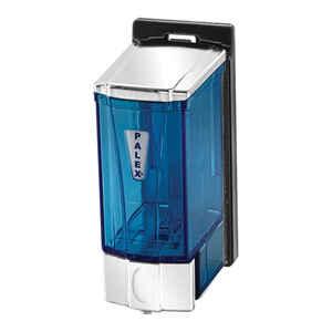 Palex - Palex 3562-2 Mini Sıvı Sabun Dispenseri 250 CC Şeffaf Krom