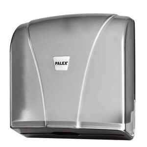 Palex - Palex 3464-2 Z Katlama Havlu Dispenseri 300 lü Şeffaf Füme