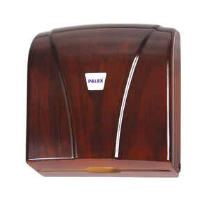 Palex - Palex 3464-A Z Katlama Kağıt Havlu Dispenseri 300 lü Ahşap