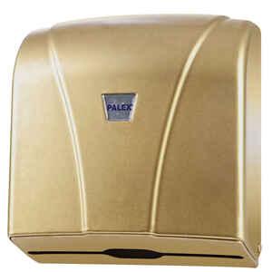 Palex - Palex 3464-G Z Katlama Kağıt Havlu Dispenseri 300 lü Gold