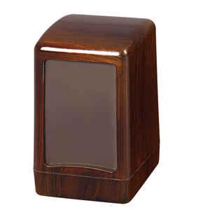 Palex - Palex 3474-A Masa Üstü Peçete Dispenseri Ahşap Ağır
