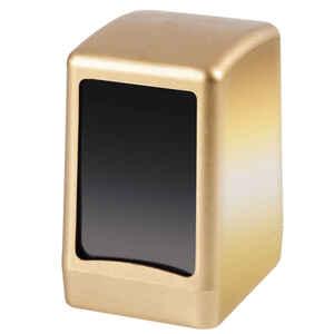 Palex - Palex 3474-G Masa Üstü Peçete Dispenseri Gold Ağır