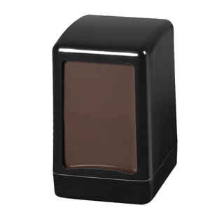 Palex - Palex 3474-H-3 Masa Üstü Peçete Dispenseri Siyah Hafif