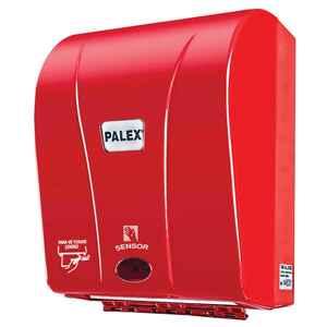 Palex - Palex 3490-B 21 Cm Otomatik Havlu Dispenseri Kırmızı