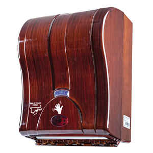 Palex - Palex 3491-A 21 Cm Otomatik Havlu Dispenseri Ahşap