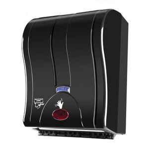 Palex - Palex 3491-S 21 Cm Otomatik Havlu Dispenseri Siyah