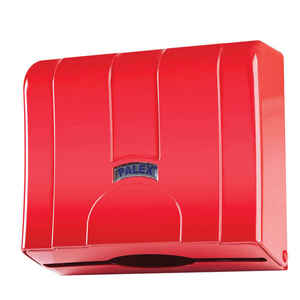 Palex - Palex 3570-B Z Katlama Havlu Dispenseri Kırmızı