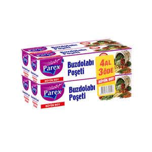 Parex - Parex Buzdolabı Poşeti Büyük Boy 4 Al 3 Öde (1)
