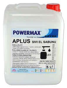 Powermax - Powermax A Plus Sıvı El Sabunu 5 KG