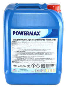 Powermax - Powermax Endüstriyel Bulaşık Makinesi Kireç Gidericisi 5 KG