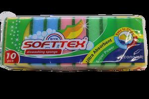 Softtex - Softtex Bulaşık Süngeri 10 lu
