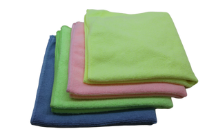 Softtex - Softtex Microfiber Temizlik Bezi 30x40 Yeşil Renk