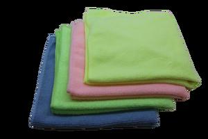 Softtex - Softtex Microfiber Temizlik Bezi 40x40 Kırmızı Renk