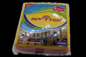 Softtex - Softtex Sarı Toz Bezi 9 lu